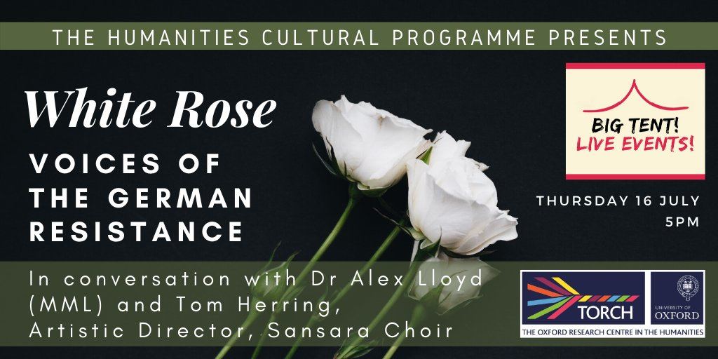 Live Event: White Rose – Voices of the German Resistance